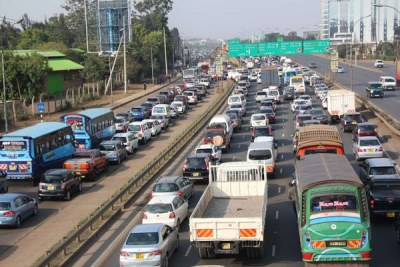 On most mornings, a heavy traffic jam starts to build up at Safari Park Hotel all the way to the city centre.