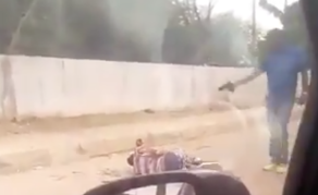 WARNING - Graphic Video Shows Apparent Execution by Angola Police