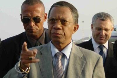 L'ancien président l'Amiral Didier Ratsiraka