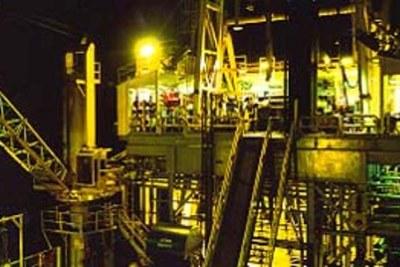 Shell oil company in Port Harcourt, Nigeria