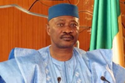 Son Excellence Amadou Toumani Touré, Président de la République du Mali.