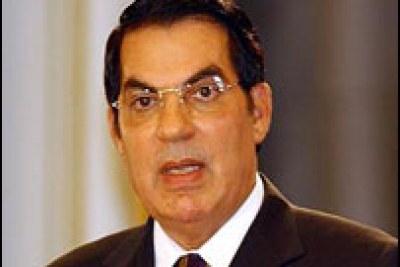 Ex-Président de la Tunisie, Ben Ali