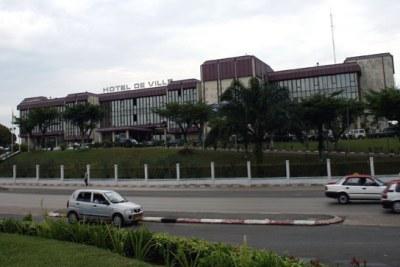 Libreville City Hall - hotel de ville de Libreville, siege de la mairie de la capitale gabonaise