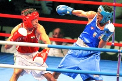 Africa Olympic boxing.