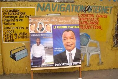 L'affichage a donné plus de visibilité aux candidats engagés lors de la campagne pour les législatives au Congo-Brazaville