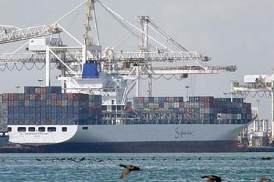 un Container à Cape Town