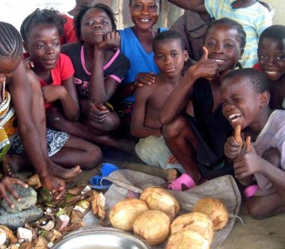 Displaced by War, Families Grow Own Food