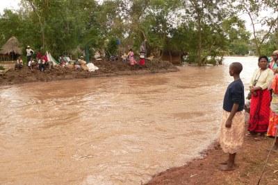 (Image d'archives) - Inondation dans une ville africaine