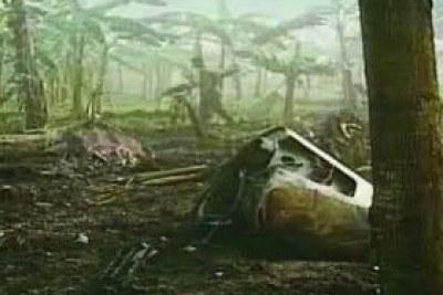 Le crash du Falcon 50 du President Habyarimana