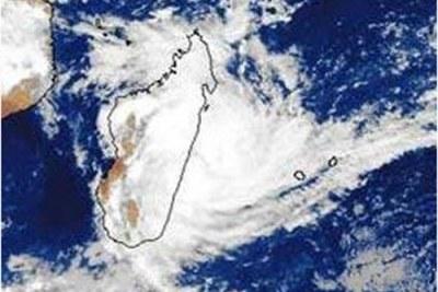 Le cyclone Hubert a fait des ravages sur la côte Est de Madagascar