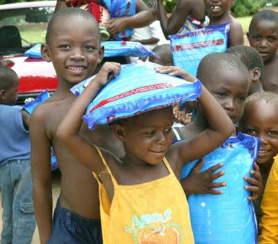 Fighting Malaria with Bednets and Smiles