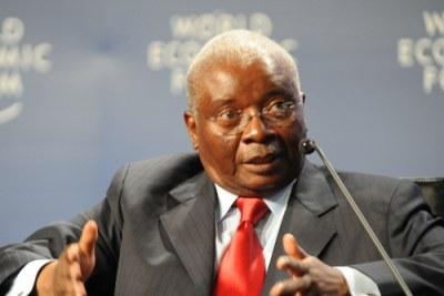 Le Président mozambicain Armando Guebuza