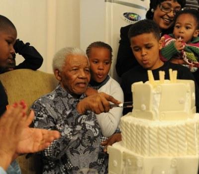 Nelson Mandela, l'homme de famille