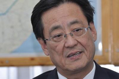 Hiroyuki Kishino, the new Japanese ambassador to Ethiopia.