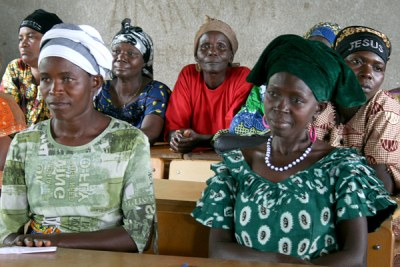 Women leaders in Burundi.