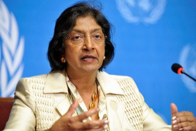 Navanethem Pillay, United Nations High Commissioner for Human Rights