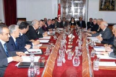 Tunisian cabinet (file photo).