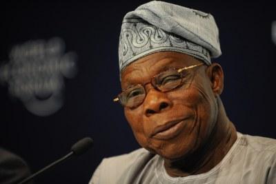 Ex-President of Nigeria, Olusegun Obasanjo.