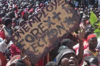 Thousands of Malawians took to the streets on Wednesday in protest against the economic and governance challenges the country is facing.