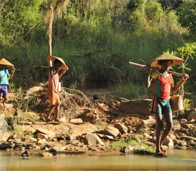 Gold Panning Girls of Madagascar