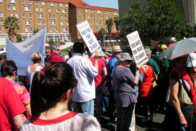 March Against the Protection of State Information Bill