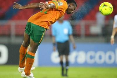 Christopher Katongo of Zambia (file photo).