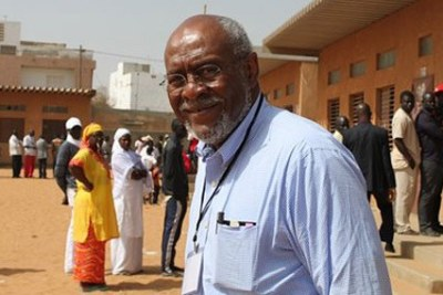 Assistant Secretary of State Johnnie Carson observes elections in Senegal.
