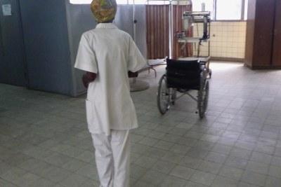 Maternité de l'Hôpital général de Kinshasa .