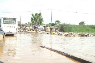 Les inondation dans la banlieue dakaroise ont causé un problème environnemental