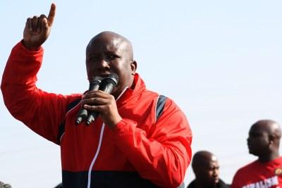 Julius Malema (file photo).