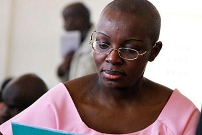 L'opposante rwandaise Victoire Ingabire.