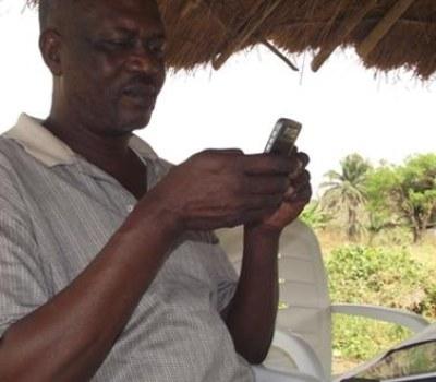 What a Cell Phone Can Do For a Nigerian Quail Farmer