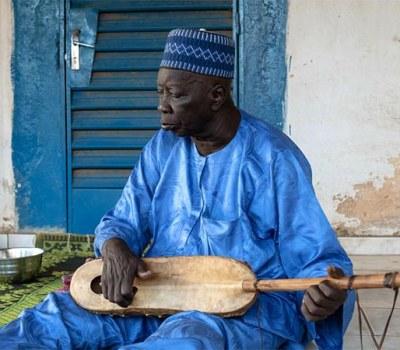 Djibo Badjé, dernier grand griot historien zarma du Niger