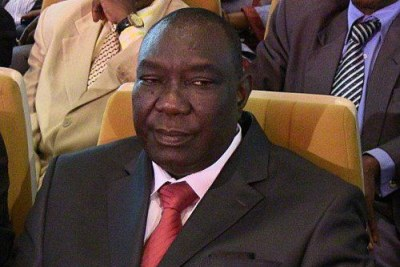 Michel Djotodia, former rebel leader turned interim president.
