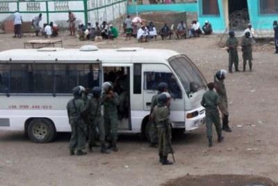 Membres de la police Djiboutienne