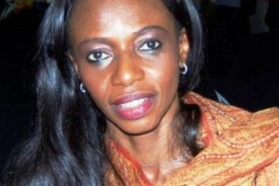 Isha Johansen, première  femme à la tête de la fédération sierra-léonaise