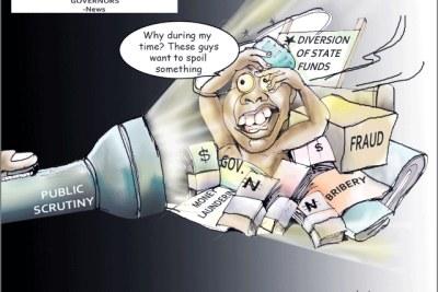 Nigerian corruption hearings.