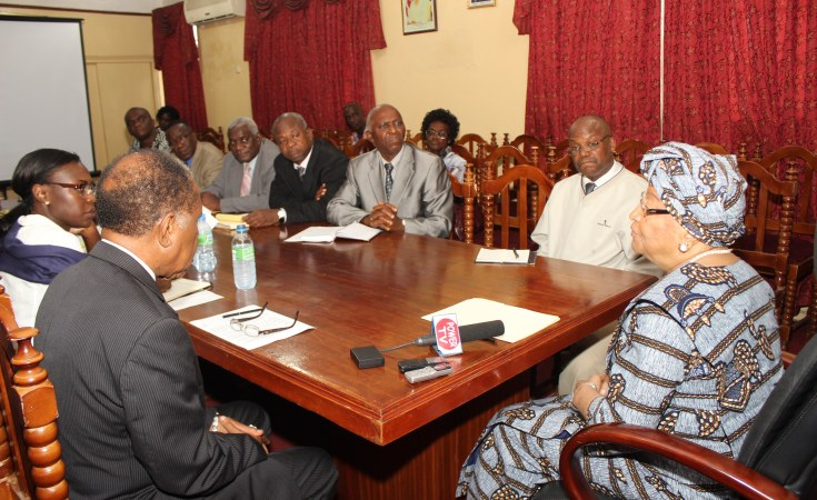 Liberia President Sirleaf Frowns On, Why Second Round Table Conference Failed
