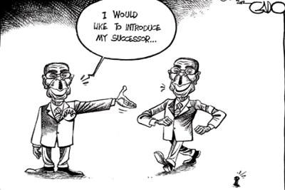 Introducing Zimbabwe's presidential candidate, Robert Mugabe.