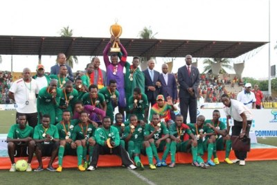 (Photo d'archives - Le Burkina Faso vainqueur du Tournoi de l'UEMOA 2013