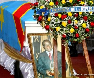 Pascal Tabu Ley inhumé au cimetière Nécropole de la N'sele de Kinshasa