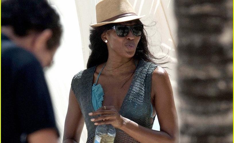 Kenya: Naomi Campbell's Poses Nude in Malindi, Kenya for British Vogue
