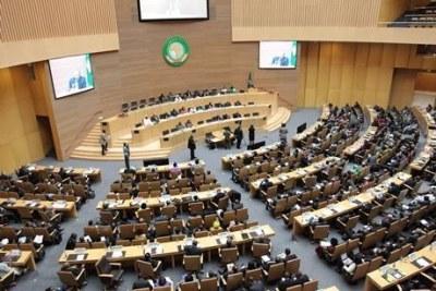 Un session à l'Union africaine