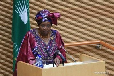 African Union Commission Chairperson Nkosazana Dlamini-Zuma.