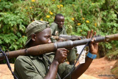 DR Congo rebels (file photo).
