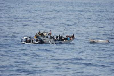 Somali pirates (file photo).