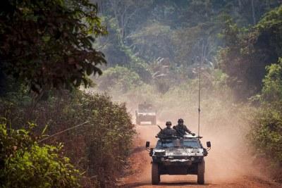 Peacekeepers on patrol
