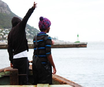 Fishermen in Kalk Bay, Cape Town