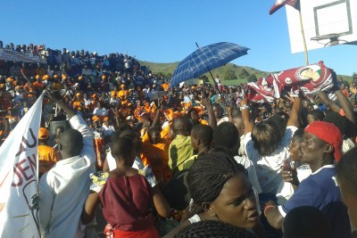 Manifestations de différents partis politiques au Malawi.