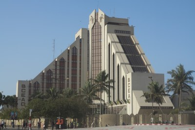 Agence nationale de la Banque Centrale des États de l'Afrique de l'Ouest (BCEAO) à Dakar